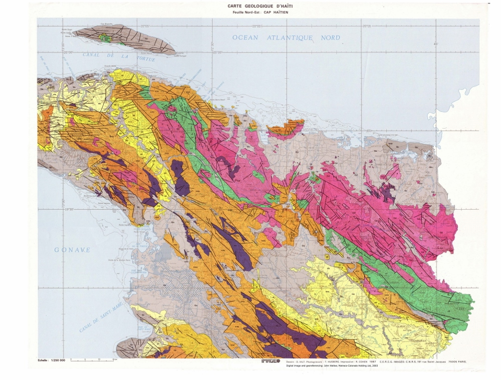 Geology of Haiti